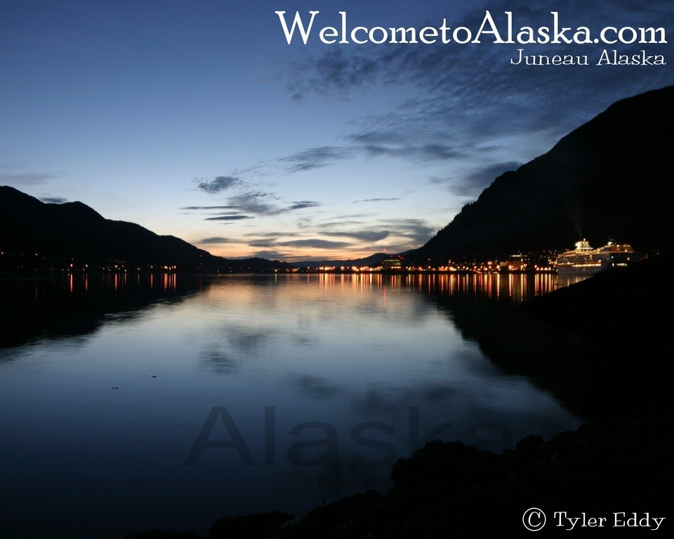 Juneau City Lights